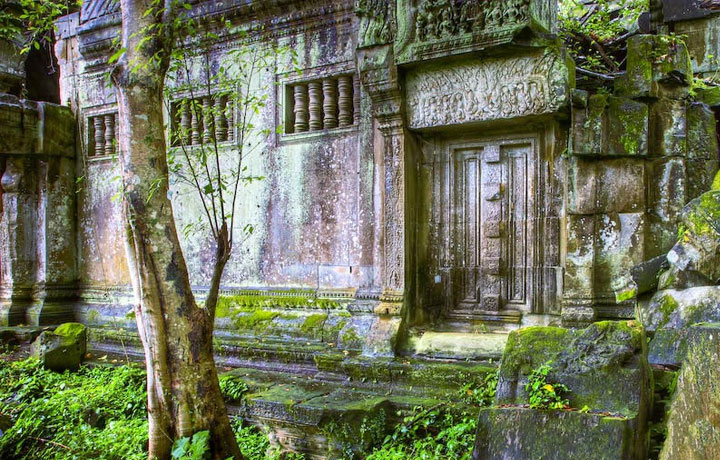 Beng mealea Day Trip by Tuk Tuk (4 Seats)